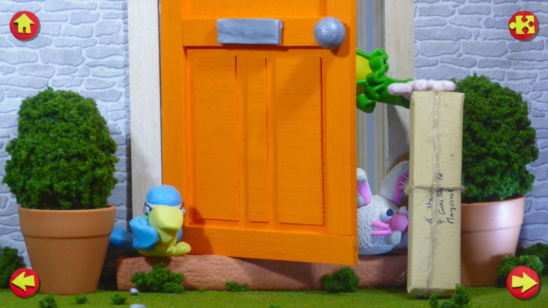 Stampy the Wizard - Screenshot: Front Door