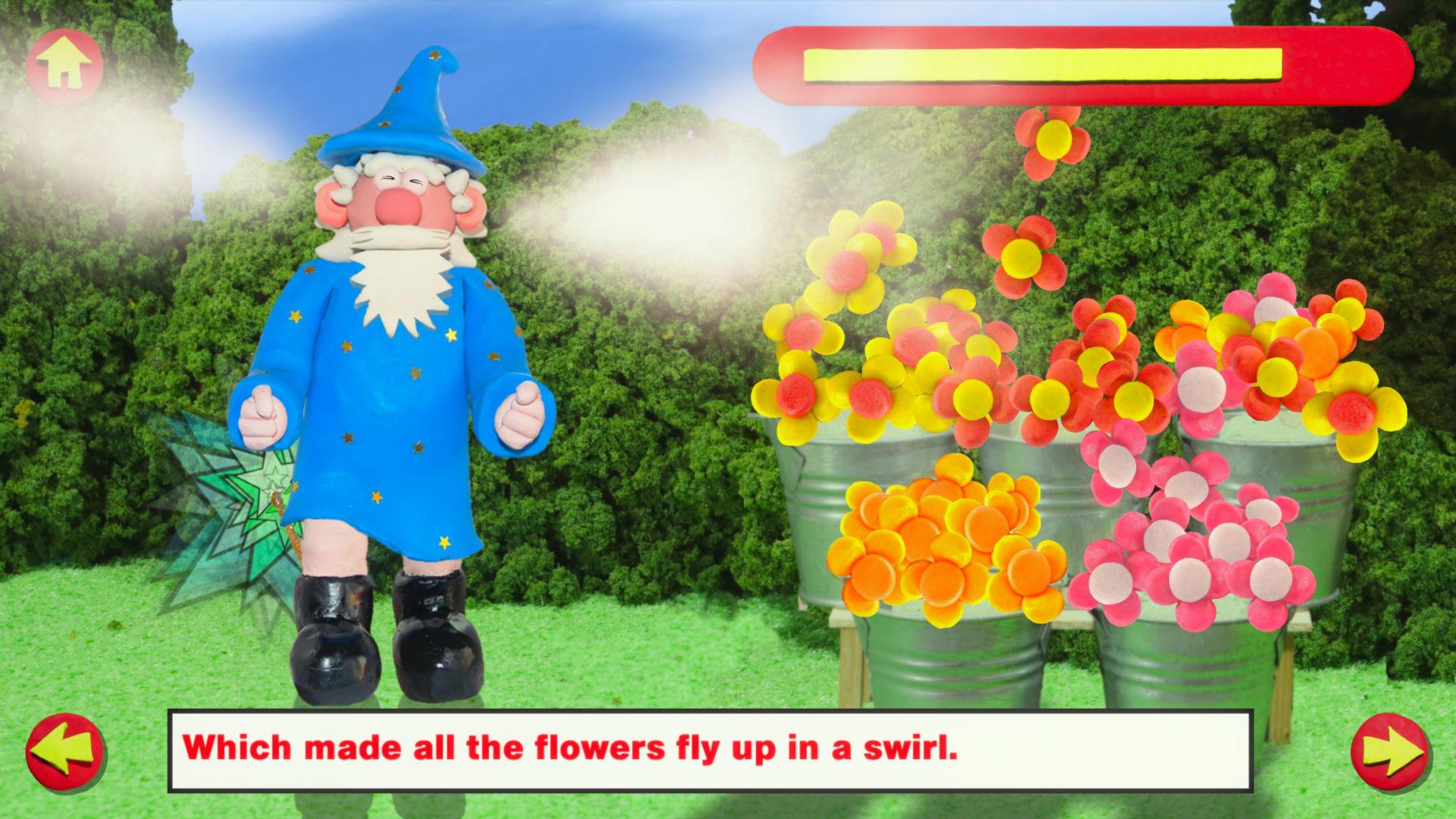 Stampy the Wizard - Screenshot: Stamping Florist